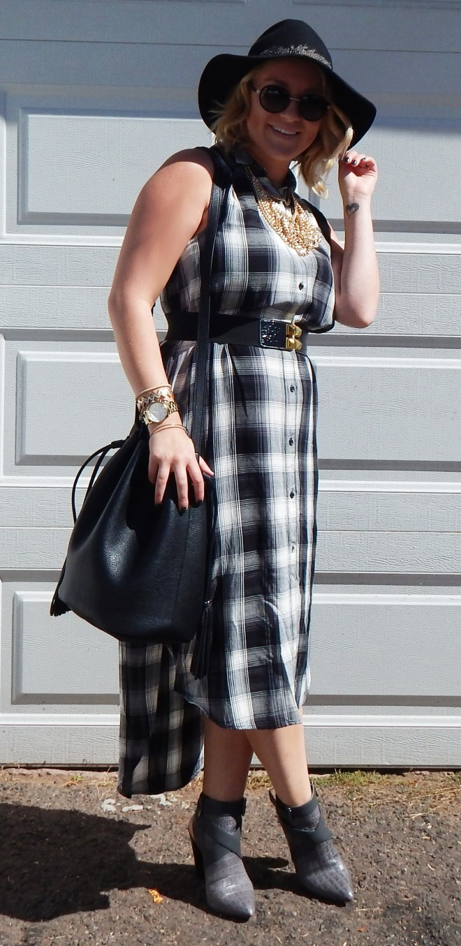 Plaid Dress5